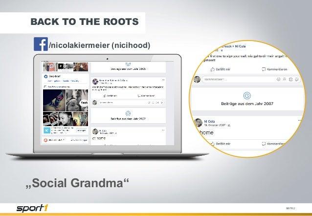 Social Broadcasting auf Facebook & YouTube – die Chance und Herausforderung der digitalen LIVE Sportberichterstattung #AFBMC Slide 2