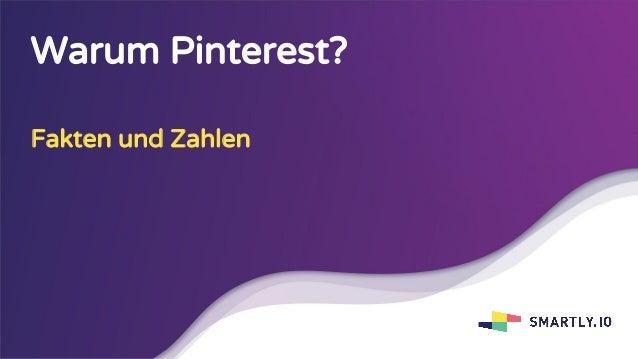 Warum Pinterest? Fakten und Zahlen