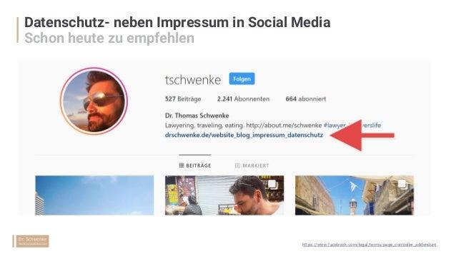 § EuGH, 05.06.2018 - C-210/16 § https://drschwenke.de/anleitung-facebook- datenschutz-page-controller-addendum/ § https://...