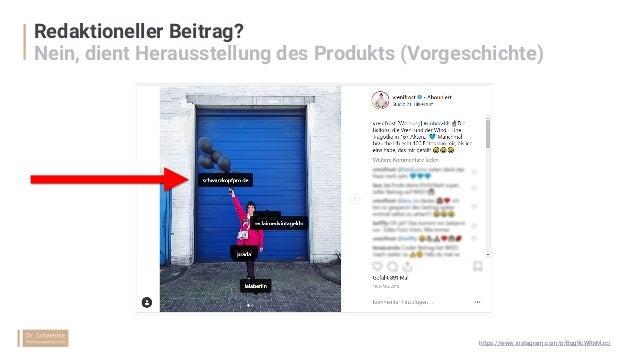 """Werbehinweis in Videos """"Produktplatzierung"""" nur, wenn redaktionell eingebunden https://www.instagram.com/p/BgTRLkmnibM/"""