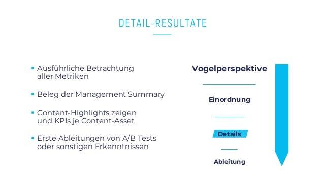 www.companyname.com © 2016 Startup theme. All Rights Reserved. § Ausführliche Betrachtung aller Metriken § Beleg der Manag...