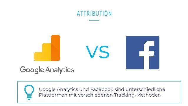 www.companyname.com © 2016 Startup theme. All Rights Reserved. vs Google Analytics und Facebook sind unterschiedliche Plat...