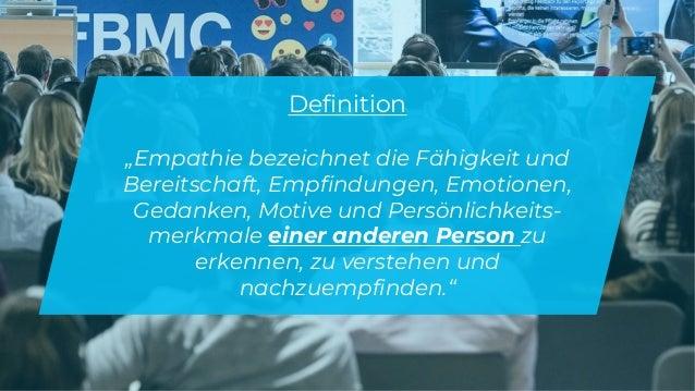 """www.companyname.com © 2016 Startup theme. All Rights Reserved. Definition """"Empathie bezeichnet die Fähigkeit und Bereitsch..."""