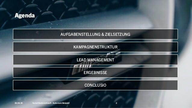 Social Media verkauft – Autos zum Beispiel! Setup, Potentiale und KPIs am Beispiel von RKG. #AFBMC Slide 2