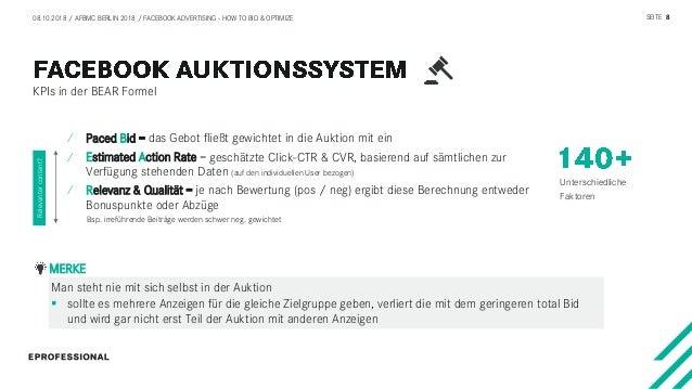Facebook Ads: How to bid & optimize #AFBMC