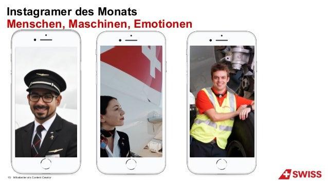 MItarbeiter als Content Creator15 Instagramer des Monats Menschen, Maschinen, Emotionen