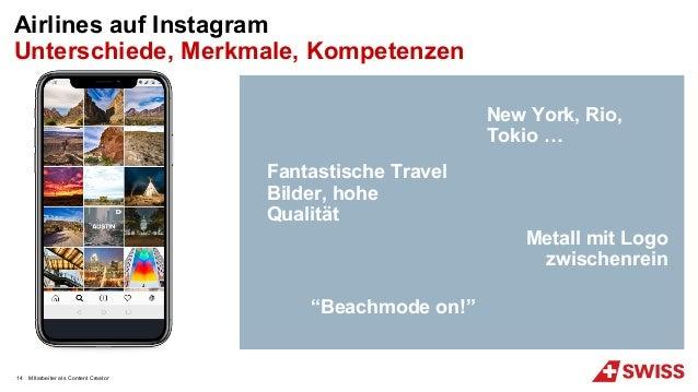 """MItarbeiter als Content Creator Airlines auf Instagram Unterschiede, Merkmale, Kompetenzen """"Beachmode on!"""" Fantastische Tr..."""