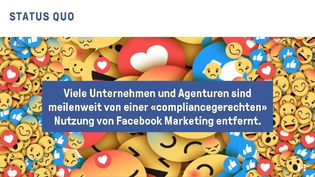 Facebook Marketing – und was ist mit der Compliance? #AFBMC Slide 2