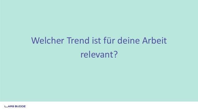 Trends, Trends, Trends: Worauf muss ich wirklich reagieren? #AFBMC