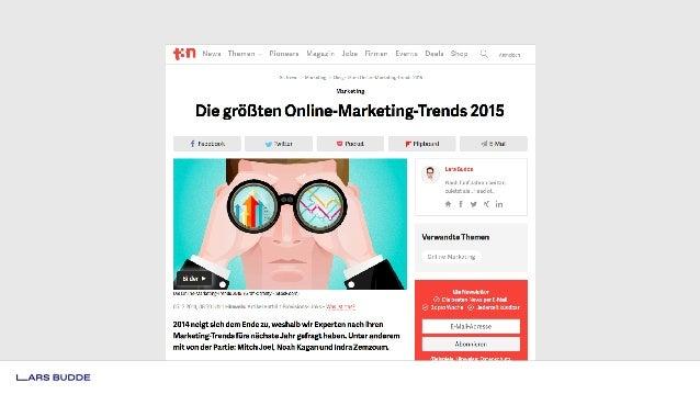 """Woran glauben deutsche Social-Media-Experten?"""