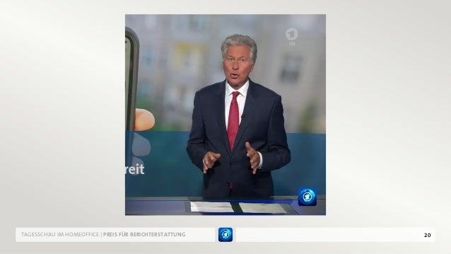 20TAGESSCHAU IM HOMEOFFICE | PREIS FÜR BERICHTERSTATTUNG