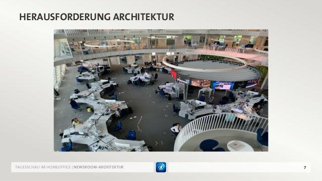 7 HERAUSFORDERUNG ARCHITEKTUR TAGESSCHAU IM HOMEOFFICE | NEWSROOM-ARCHITEKTUR