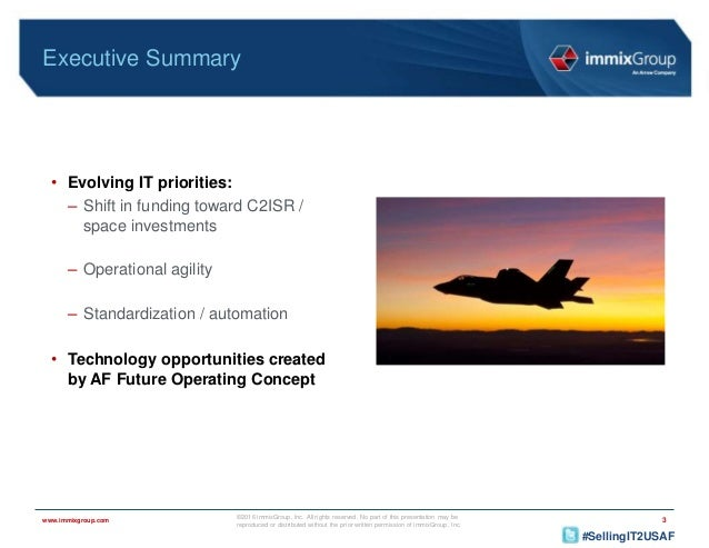 Air Force IT Sales Opportunities: Where to Aim High in FY17
