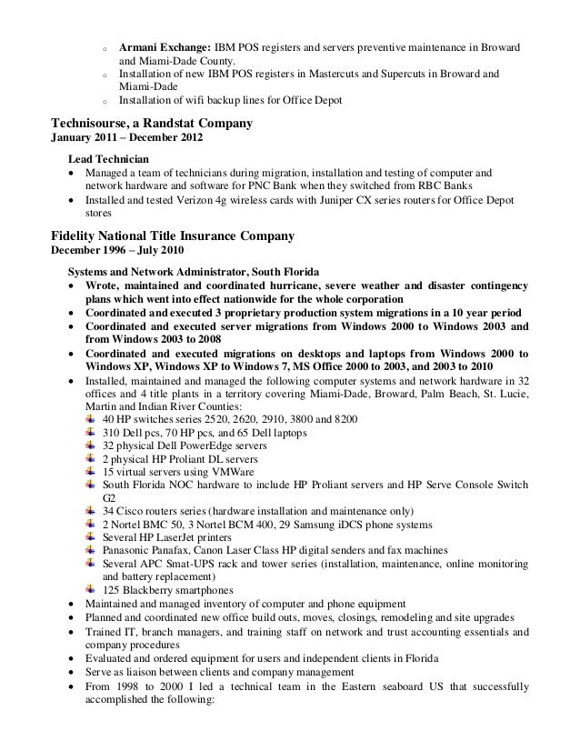 3 o - What A Professional Resume Looks Like