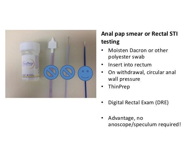 Anal pap smear