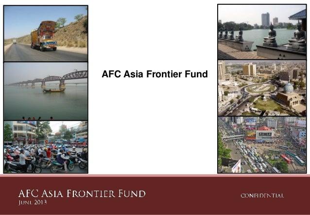 AFC Asia Frontier Fund