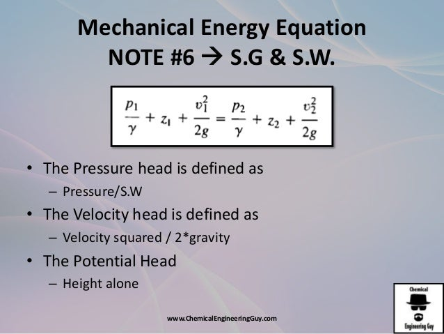 AFD1 The Mechanic Ener... Formula Of Mechanical Energy