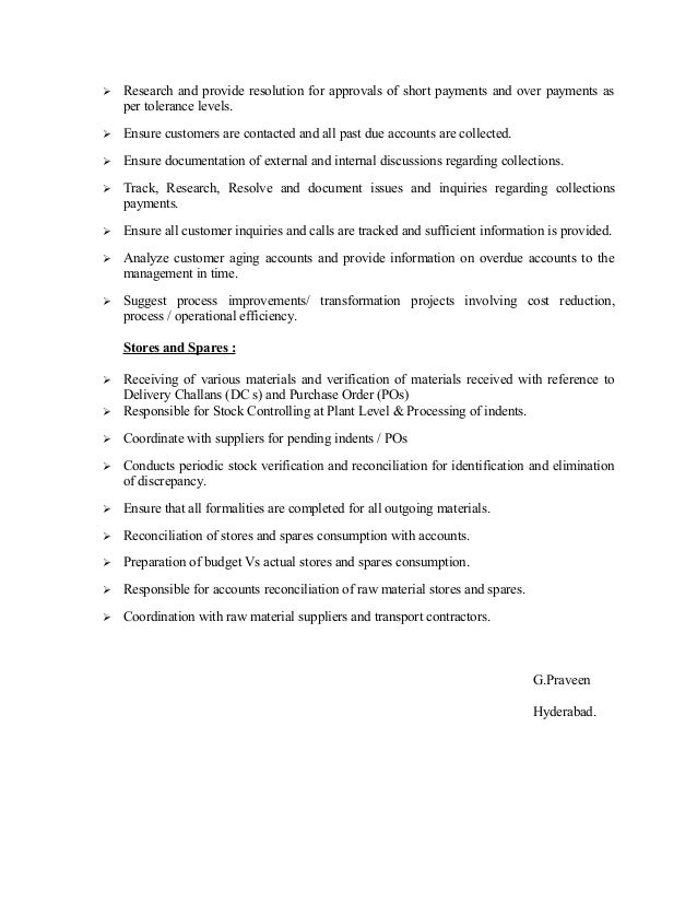 praveen u0026 39 s updated resume
