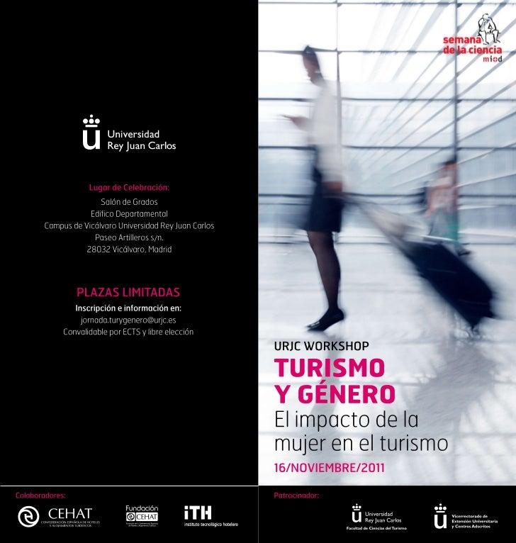 Workshop Turismo y Género Universidad Rey Juan Carlos