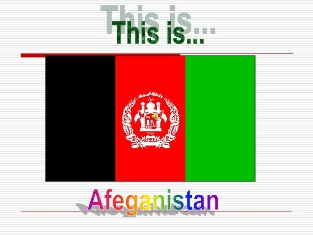 Apesar das incessantes guerras e conflitos étnicos existemtesneste país,vou mostrar agora que o Afeganistão,não tem sóimag...