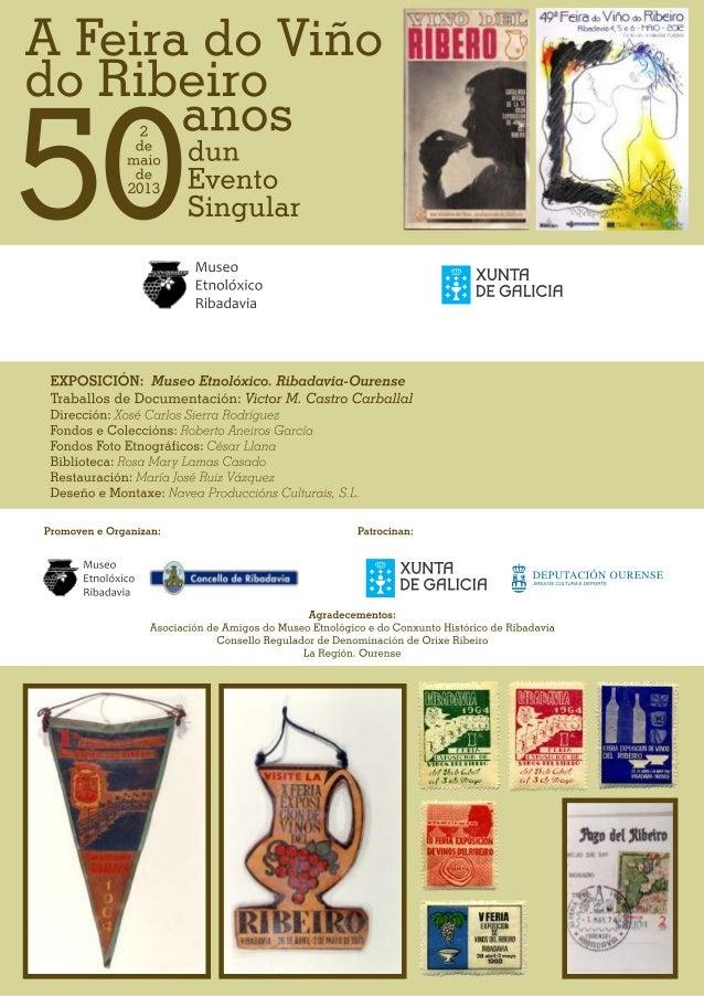 A feira do viño 50 anos dun evento singular no etnolóxico