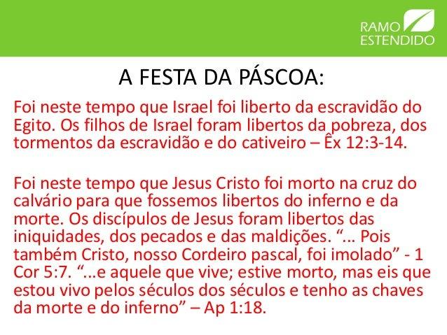 A Festa Da Páscoa: Um Tempo De Redenção, Limpeza E