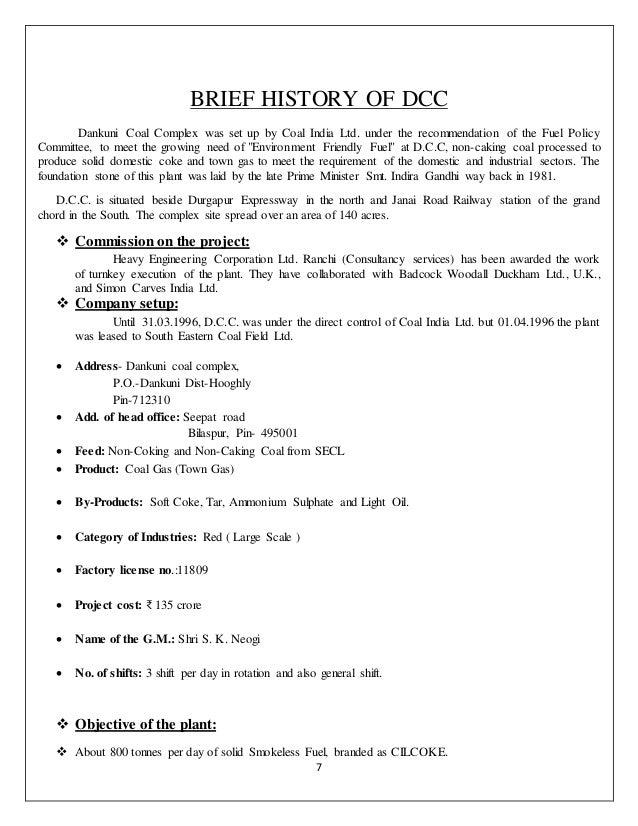 DCC Training Report Final