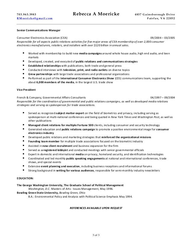 rebecca moericke marketing and communications consulting resume 022815