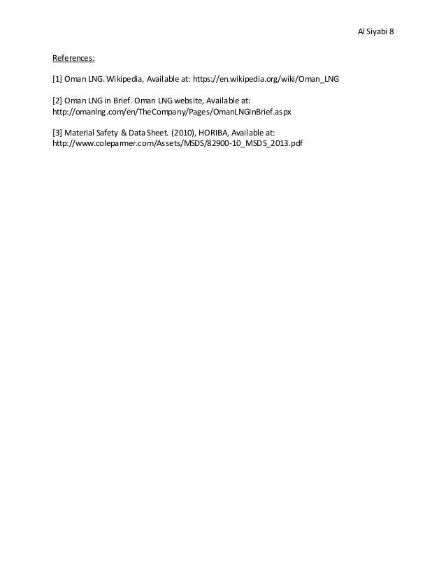 Industrial Internship Report - OLNG