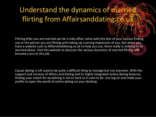 Flirting while married