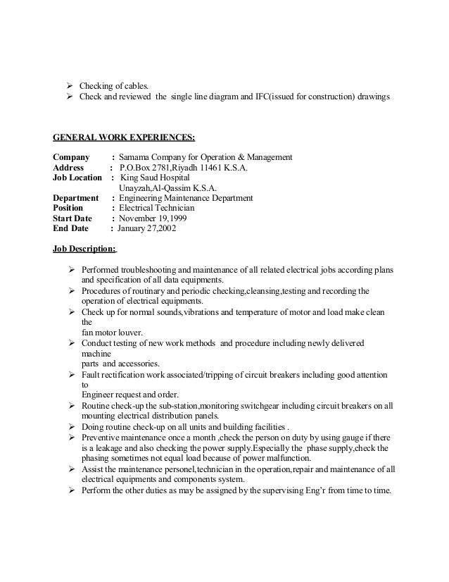 electrician job duties electricians job description for