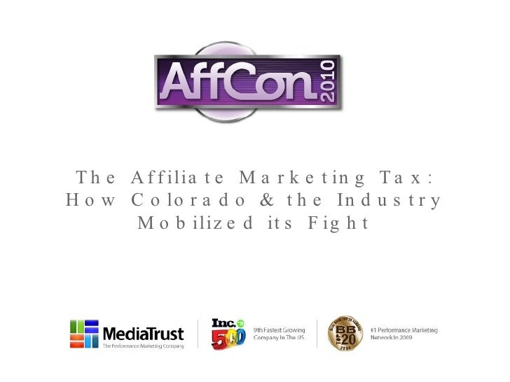 The Affiliate Marketing Tax: How Colorado & the Industry Mobilized its Fight