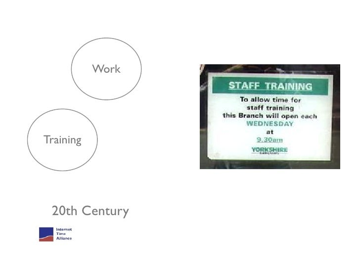 80%+ of Workplace Learning is Informal                              FormalInformal