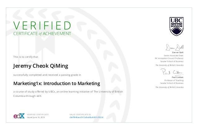 UBCx Marketing1x Certificate _ edX