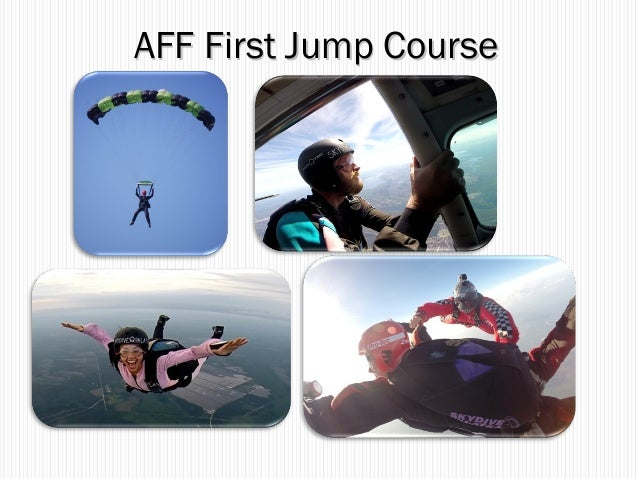 AFF First Jump CourseAFF First Jump Course