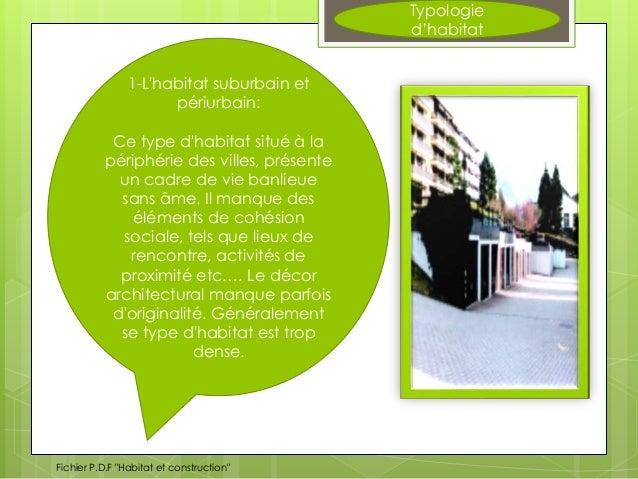 Affichage habitat for Habitat rural en algerie pdf