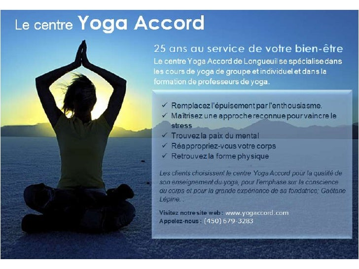 Centre Yoga Accord Longueuil