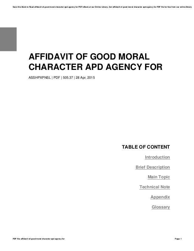 affidavit of good moral character apd agency for asshpxpnsl pdf 50537 28 apr