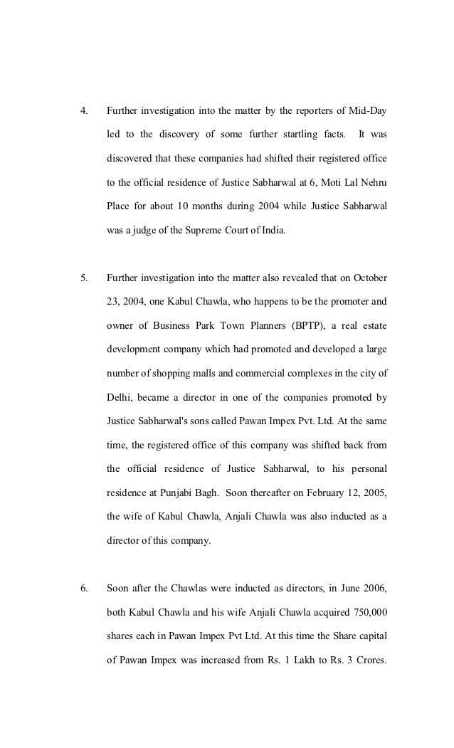 affidavit of mid day vitusha 3