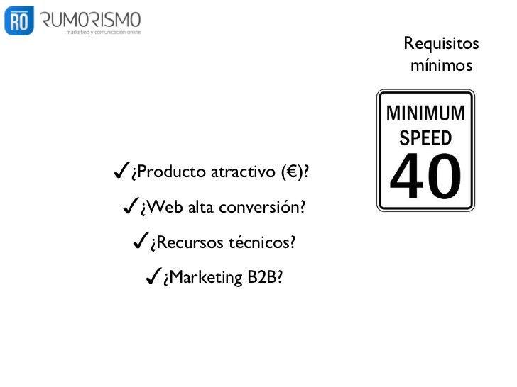 1.Diseño✓Contrato explícito✓Plataforma potente:    Ingresos, Estadísticas, Recursos Web            ✓Id(s)          trackin...