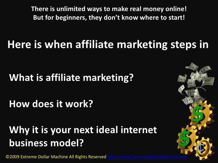 There is unlimited ways to make real money online! But for beginners, they don't know where to start!<br />Here is when af...
