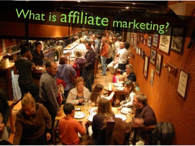 What is affilia              te marketing?