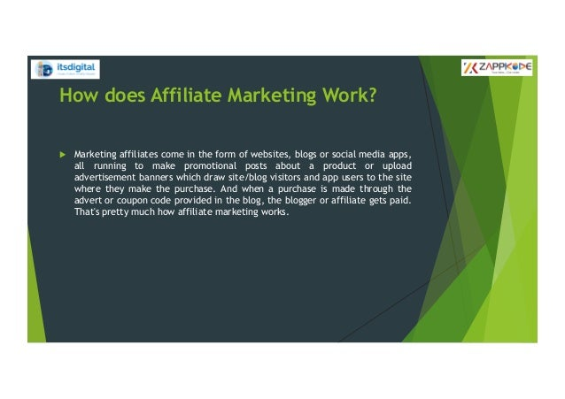 Affiliate marketing Slide 3