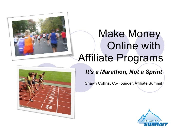 Make money online with affiliate programs for Create a program online