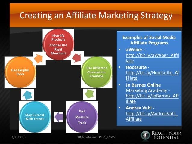 Affiliate marketing for passive income
