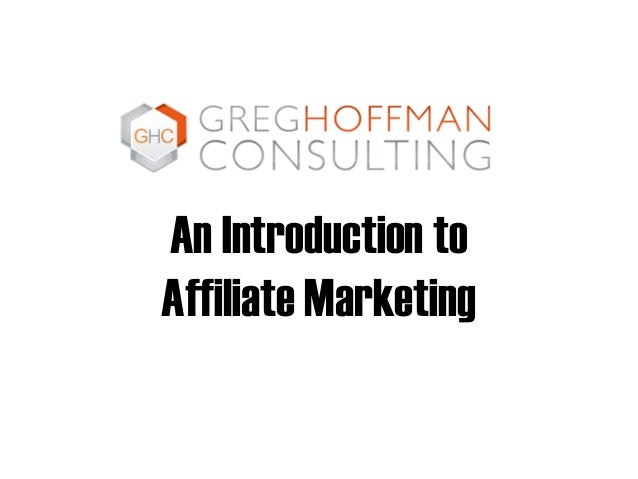 An Introduction to Affiliate Marketing