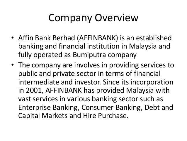 Analysis of public bank berhad