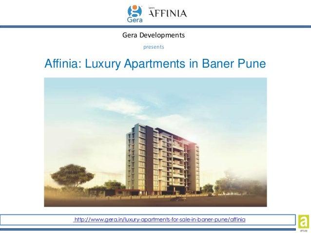 Luxury Apartments In Baner Pune
