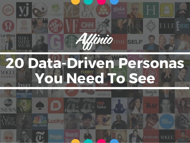 20 Data-Driven Personas You Need To See ....