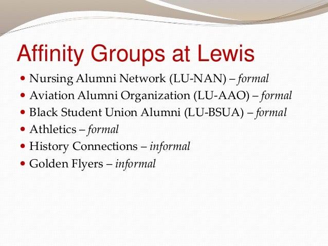 Establishing Affinity Groups
